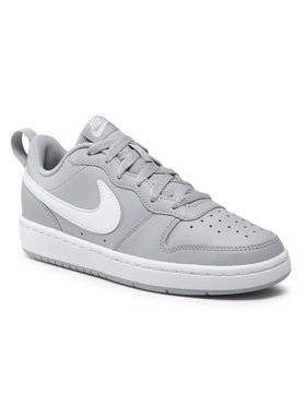 Nike Nike Обувки Court Borough Low 2 (Gs) BQ5448 008 Сив
