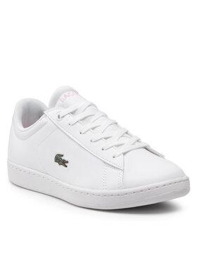 Lacoste Lacoste Sneakersy Carnaby Evo 0121 1 Suj 7-42SUJ00021Y9 Biały