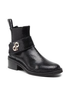 Pollini Pollini Členková obuv s elastickým prvkom SA21075G1DTI0000 Čierna
