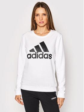adidas adidas Bluza Bl Ft GM5518 Biały Regular Fit