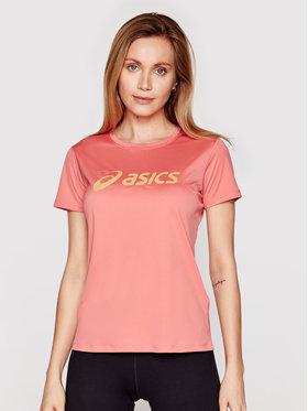 Asics Asics Тениска от техническо трико Sakura 2012B947 Розов Regular Fit