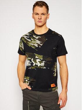 Guess Guess Тишърт Camouflage M1RI59 K8FQ0 Черен Regular Fit