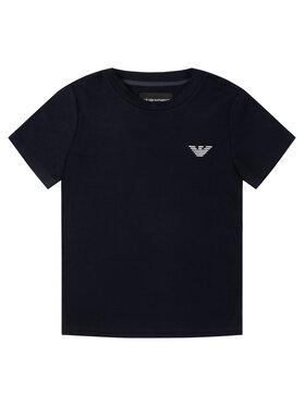 Emporio Armani Emporio Armani Marškinėliai 3H4TJ1 1JCDZ 0922 Tamsiai mėlyna Slim Fit