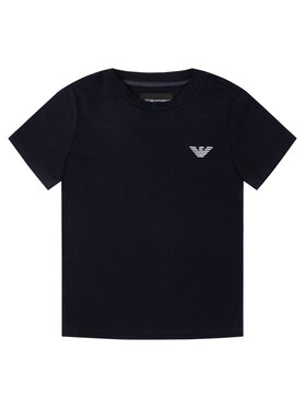 Emporio Armani Emporio Armani T-Shirt 3H4TJ1 1JCDZ 0922 Granatowy Slim Fit