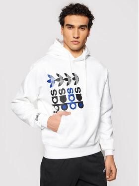 adidas adidas Bluză FRM GN3871 Alb Regular Fit