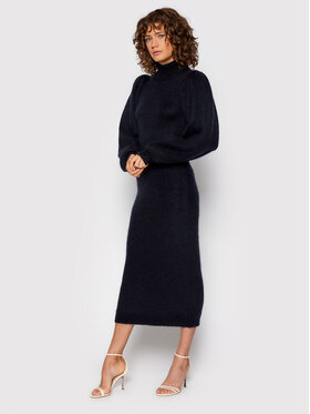 ROTATE ROTATE Džemper haljina Belinda Dress RT697 Tamnoplava Regular Fit