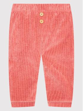 United Colors Of Benetton United Colors Of Benetton Spodnie materiałowe 3YFQMF271 Różowy Regular Fit