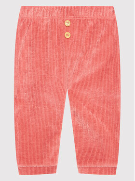 United Colors Of Benetton United Colors Of Benetton Текстилни панталони 3YFQMF271 Розов Regular Fit