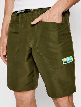 New Balance New Balance Спортни шорти MS01518O Зелен Regular Fit