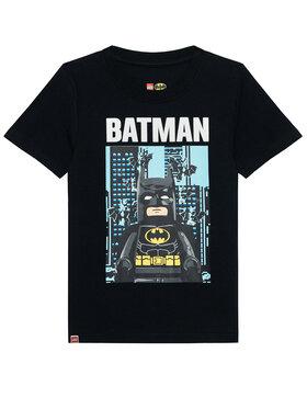 LEGO Wear LEGO Wear Marškinėliai 12010092 Juoda Regular Fit