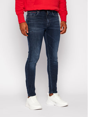 Tommy Jeans Tommy Jeans Jeansy Skinny Fit Simon DM0DM09313 Granatowy Skinny Fit