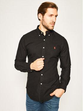 Polo Ralph Lauren Polo Ralph Lauren Košeľa Bsr 710772288 Čierna Slim Fit