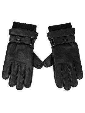 Emporio Armani Emporio Armani Pánské rukavice 624524 9A226 00020 Černá