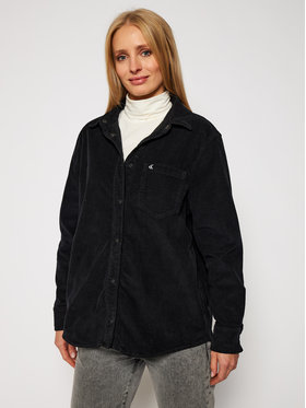 Calvin Klein Jeans Calvin Klein Jeans Hemd J20J215178 Schwarz Regular Fit