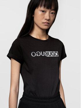 Hugo Hugo T-shirt The Slim 4 50446054 Noir Slim Fit