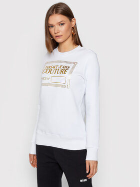 Versace Jeans Couture Versace Jeans Couture Bluză 71HAIT12 Alb Regular Fit