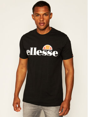 Ellesse Ellesse T-Shirt Sl Prado Tee SHC07405 Černá Regular Fit