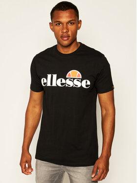 Ellesse Ellesse T-Shirt Sl Prado Tee SHC07405 Czarny Regular Fit
