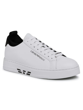 Emporio Armani Emporio Armani Sneakers X4X308 XM485 R207 Alb