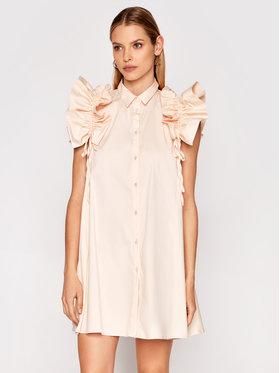 Imperial Imperial Коктейлна рокля AA5TBBE Бежов Regular Fit