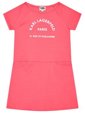 KARL LAGERFELD KARL LAGERFELD Každodenné šaty Z12171 M Ružová Regular FIt