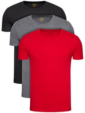 Polo Ralph Lauren Polo Ralph Lauren 3-dílná sada T-shirts 3PL 714830304004 Barevná Regular Fit