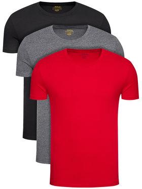 Polo Ralph Lauren Polo Ralph Lauren Set od 3 para majica 3PL 714830304004 Šarena Regular Fit