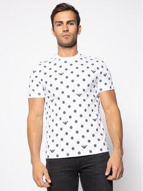 Emporio Armani Emporio Armani T-Shirt 3H1TD7 1J30Z F113 Biały Regular Fit