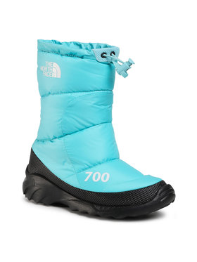 The North Face The North Face Śniegowce Nuptse Bootie 700 NF0A4OAYVDE1 Niebieski