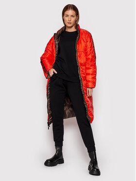 MICHAEL Michael Kors MICHAEL Michael Kors Pernata jakna Logo MF1203X43D Smeđa Regular Fit