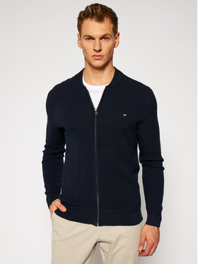 TOMMY HILFIGER TOMMY HILFIGER Cardigan Ricecorn Baseball MW0MW11661 Blu scuro Regular Fit