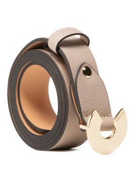 Coccinelle Coccinelle Dámský pásek HZ5 Belt E3 HZ5 11 06 07 Béžová
