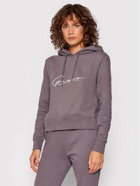 Guess Guess Sweatshirt O1BA09 KAOR1 Violett Regular Fit
