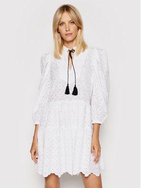 Rinascimento Rinascimento Sukienka letnia CFC0103616003 Biały Regular Fit