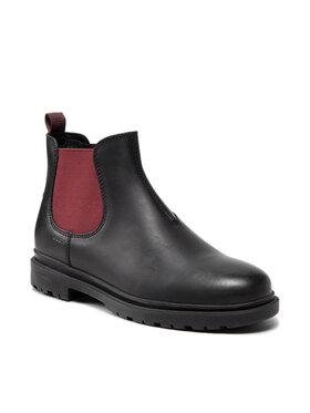Geox Geox Členková obuv s elastickým prvkom U Andalo A U16DDA 00045 C9340 Čierna