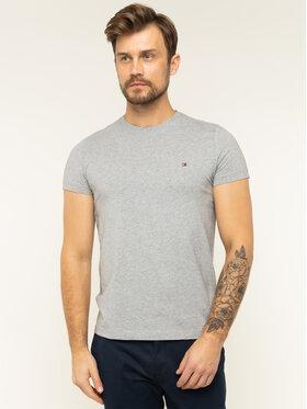 TOMMY HILFIGER TOMMY HILFIGER T-Shirt 867896625 Szary Slim Fit