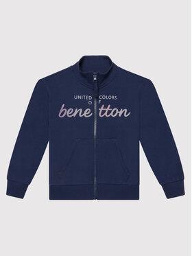United Colors Of Benetton United Colors Of Benetton Pulóver 3J68C5972 Sötétkék Regular Fit