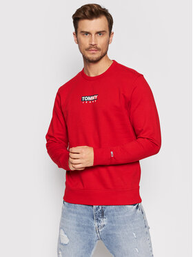 Tommy Jeans Tommy Jeans Sweatshirt Entry Graphic DM0DM11627 Rot Regular Fit