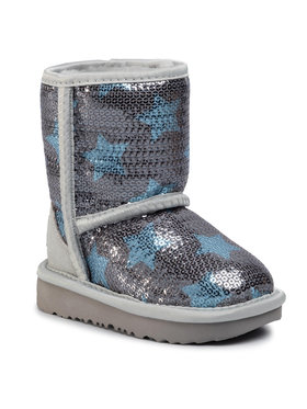 Ugg Ugg Παπούτσια T Classic Short II Sequin Star 1107988T Γκρι
