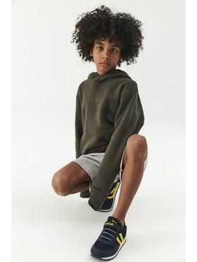 Sprandi Sprandi Sweatshirt SS21-BLK005 Grün Regular Fit