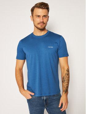 Calvin Klein Calvin Klein Tričko Chest Logo K10K103307 Modrá Regular Fit