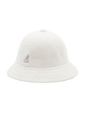 Kangol Kangol Kapelusz Bucket Bermuda Casual 0397BC Biały