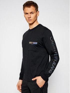 Calvin Klein Jeans Calvin Klein Jeans Longsleeve J30J317493 Μαύρο Regular Fit