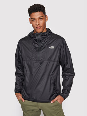 The North Face The North Face Anorak stiliaus striukė Cyclone NF0A5A3HJK31 Juoda Regular Fit
