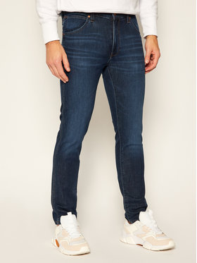Wrangler Wrangler Jeansy Slim Fit Larston W18SAO68N Granatowy Slim Fit