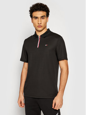 Tommy Hilfiger Tommy Hilfiger Polo Stripe Training MW0MW17270 Nero Relaxed Fit