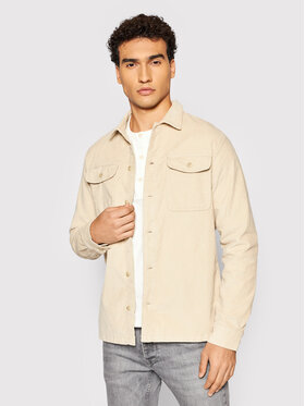 Jack&Jones Jack&Jones Marškiniai Blaben 12195781 Smėlio Comfort Fit