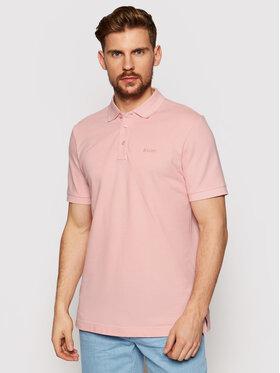 Joop! Joop! Тениска с яка и копчета 17 Jj-02Primus 30013368 Розов Regular Fit