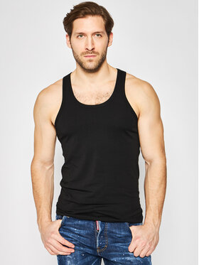 Dsquared2 Underwear Dsquared2 Underwear Tank top marškinėliai D9D202980 Juoda