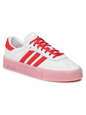 adidas adidas Обувки Sambarose W FX6269 Бял